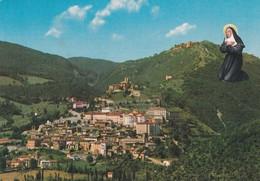 CARTOLINA - POSTCARD - PERUGIA - CASCIA - PANORAMA - Perugia