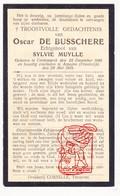DP Pieuse - Oscar De Busschere ° Kortemark BE 1888 † Arpajon FR Essonne 1918 X Sylvie Muylle - Santini