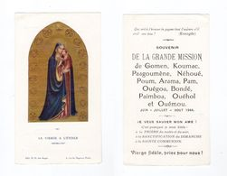 Grande Mission De Gomen, Koumac, Paagoumène, Néhoué, Poum, Arama, Pam, Ouégoa, Bondé, Pimboa, Ouéhol, Ouémou, 1944 - Santini