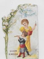 JOLI CHROMO POULAIN    LA LECON DE MUSIQUE   N° XV - Poulain