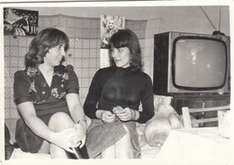 RUSSIA.  A PHOTO. TV. GIRLS. CLOCK.*** - Photographs