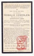 DP Pieuse - Rosalia VanColen ° Moorslede BE 1840 † Janville Paluel FR Normandie 1919 X L. Laga / Eernegem / Gezelle - Santini