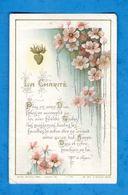 Citation De Mgr De Ségur, églantines Et Sacré Coeur De Jésus, La Charité, éd. Bouasse-Lebel - LEcène & Cie F-715 - Santini