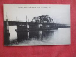 Viictory Bridge Over Raritan River Perth Amboy  New Jersey >ref 2812 - United States