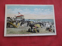 Seventh Avenue Bathing Grounds Asbury Park   New Jersey >ref 2812 - United States