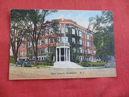 High School  Westfield  New Jersey >ref 2812 - United States