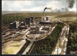 Faulquemont La Mine Attention Bord Verticaux Coupés - Faulquemont