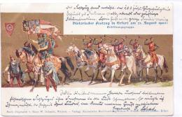 ALTE  AK   ERFURT / Thüringen   - Historischer Festzug 21.August 1902 -  1902 Gelaufen - Erfurt