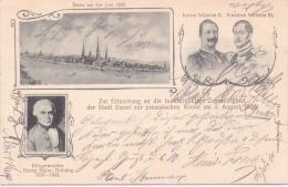 ALTE  Jubiläums- AK   ESSEN / NRW   - 100 Jährige Zugehörigkeit Zu Preuss. Krone  03.08.1902 -  1902 Gelaufen - Essen