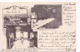 ALTE  AK   SAARBURG I.L. / Lothringen  -  Casino Des Inf. Reg. 97 - 1901 Gelaufen - Lothringen