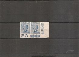 Italie ( 79 En Paire XXX -MNH- Non Dentelée Coin De Feuille ) - 1900-44 Victor Emmanuel III.