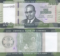 Liberia - 100 Dollars 2016 UNC Lemberg-Zp - Liberia