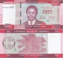 Liberia - 50 Dollars 2016 UNC Lemberg-Zp - Liberia
