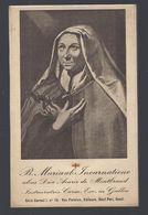 RELIC RELIQUIA RELIQUARY B. MARIAAB. INCARNATIONE ALIAS DNA. ACARIE DE MONTBRAND INSTAURATRICE CARM. EXC. IN GALLIA - Images Religieuses