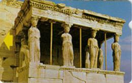 GREECE : GRCAFT11 'B'  Alcatel Caryathides USED - Greece