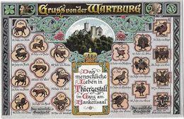 Gruss Von Der WARTBURG - Germany