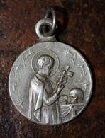 "Pendentif Médaille Religieuse Début XXe ""Saint Gérard Majella"" Religious Medal - Religion & Esotérisme"