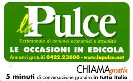 *CHIAMAGRATIS - N.191 - LA PULCE* - Scheda NUOVA (MASTER) - Italy