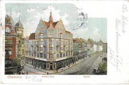 CHEMNITZ --Kaise Café  - Markt - Chemnitz