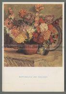 V4405 Illustrazione FIORI NELL'ARTE UMBERTO MOGGIOLI REPUBBLICA DEI RAGAZZI - Flowers