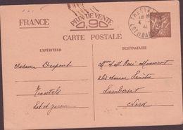 ENTIER POSTAUX 1941  TRENTELS - Entiers Postaux