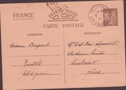 ENTIER POSTAUX 1941  TRENTELS - Enteros Postales