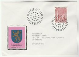 1966 Luxembourg  EUROPE DAY EVENT COVER Notre Damne Cathedral  Stamps European Community - Luxembourg