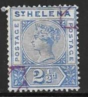St. Helena, Scott # 44 Used Queen Victoria, 1896 - Saint Helena Island
