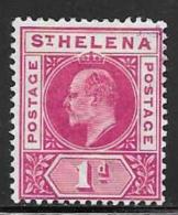 St. Helena, Scott # 49 Mint Hinged King Edward Vll, 1902 - Saint Helena Island