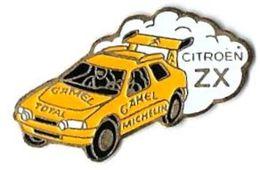 GROUPE PSA - CITROEN - C15 - ZX DAKAR - Verso : SM - Peugeot