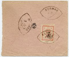 Persia Cover, Circa 1906, Kerman To Meshed        2235 - Iran