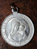 """Pendentif Médaille Religieuse """"Saint Ignace De Loyola / Notre-Dame Du Bon Conseil"""" Paris - Religious Medal - Religion & Esotérisme"""
