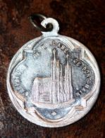 """Très Beau Pendentif Médaille Religieuse """"Notre-Dame De Pont-Main / Pontmain"""" Mayenne - Religious Medal - Religion & Esotérisme"""