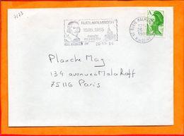 HAUTS DE SEINE, Rueil Malmaison, Flamme SCOTEM N° 7173, 1985 Année Richelieu - Marcophilie (Lettres)