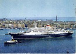 Nave - Taras Shevchenko - Black Sea Steamship Compary Ussr - Formato Grande Viaggiata – E 4 - Schiffe