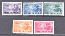 PHILIPPINES  537-9, C 68-9   *  JR.  CHAMBER OF  CONGRESS - Philippines