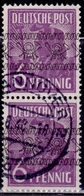 Germany, 1948, Planting Olive, Overprint, 6pf, Sc#601, Used - American/British Zone