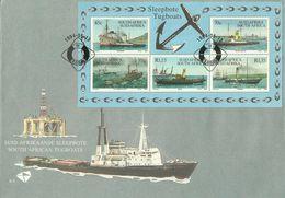 South Africa 1994 Tugboats Miniature Sheet FDC - FDC