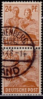Germany, 1947, Reaping Wheat, 24pf, Sc#565, Used - American/British Zone