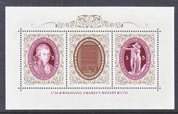 AUSTRIA  1533   **  MOZART  MUSIC  COMPOSER - 1991-00 Unused Stamps