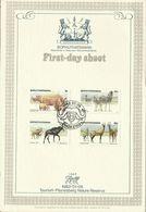 South Africa Bophuthatswana 1983 Tourism First Day Sheet - Bophuthatswana