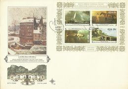 South Africa RSA 1980 National Gallery MS FDC - FDC