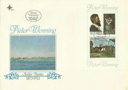 South Africa RSA 1980 Pieter Wenning Miniature Sheet FDC - FDC