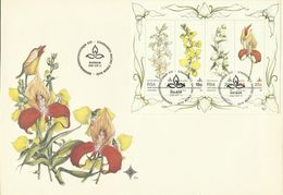 South Africa RSA 1981 Orchids Convention Miniature Sheet FDC - FDC