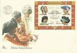 Transkei 1981 Xhosa Head-dresses Miniature Sheet FDC - Transkei
