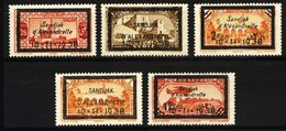 SANDJAK ALEXANDRETTE 1938 - The Complete Set Of Mourning Of Kemal Atatürk, Mint LH - 1934-39 Sandjak Alexandrette & Hatay