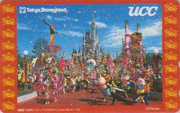 Télécarte NEUVE Japon / 110-205400 - DISNEY - DISNEYLAND ** UCC ** - Japan MINT Phonecard - Disney