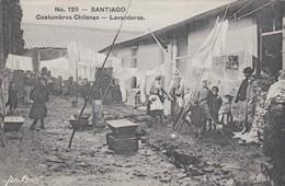 N°120 Santiago - Costumbres Chilenas - Lavanderas - Chile