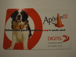 1 Remote Phonecard From Venezuela - Dog - Venezuela
