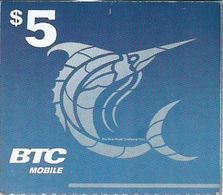 BAHAMAS : BTC Recharge BTC White Logo (no Text Airtime Card)   MARLIN  Exp : 30/NOV/2019 - Bahamas